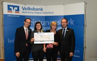Liederkranz Salzstetten erhält 500 Euro