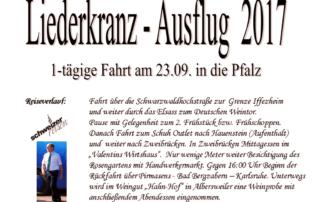 Unser Jahresausflug in die Pfalz